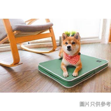 Lifeapp台灣製寵物緩壓睡墊 (小) 65W x 45D x 5Hcm - 經典透氣綠
