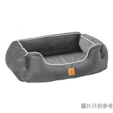 Lifeapp台灣製寵物緩壓睡墊 - 尊爵堡 (小) 84W x 61D x 23Hcm - 隕石灰