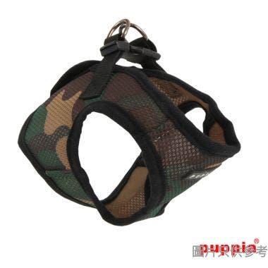 Puppia輕便透氣柔軟背心B款 (M) - 迷彩色
