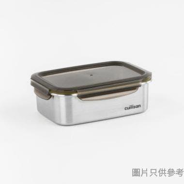 CUITISAN韓國製至尊系列長方形不銹鋼保鮮盒183W x 129D x 60Hmm EC7-GS05 (680ml)