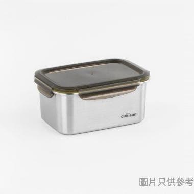 CUITISAN韓國製至尊系列長方形不銹鋼保鮮盒183W x 129D x 83Hmm EC7-GS06 (1010ml)
