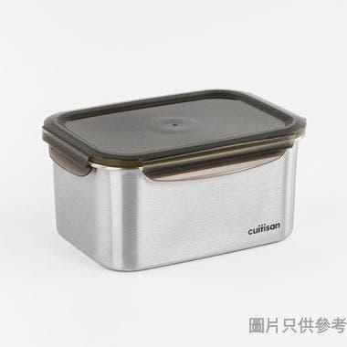 CUITISAN韓國製至尊系列長方形不銹鋼保鮮盒260W x 192D x 120Hmm EC7-GS11 (4000ml)
