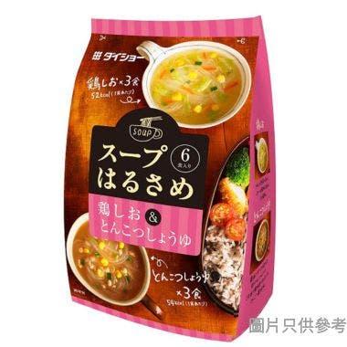 Daisho粉絲湯 (6包裝) - 雞/豬骨湯口味