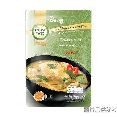 Chimdoo泰國製綠咖喱雞醬110g