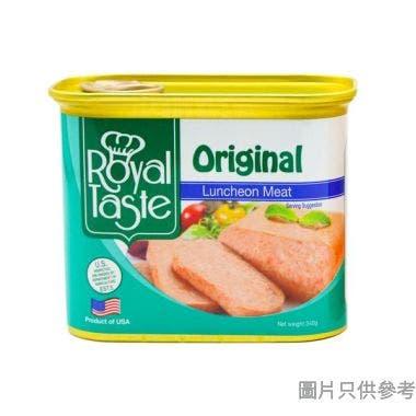 皇滋味午餐肉 340g - 原味