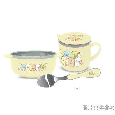角落生物兒童餐具套裝 SGS11815 (碗+杯+匙)