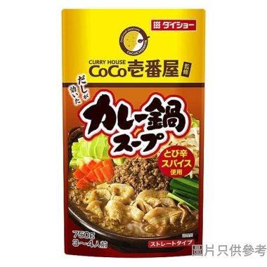 Daisho可可一番屋咖哩火鍋湯 750g