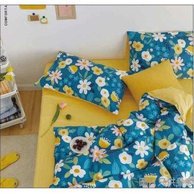 Isabella床品套裝加大(床笠+枕袋)ML1580 - 小確幸