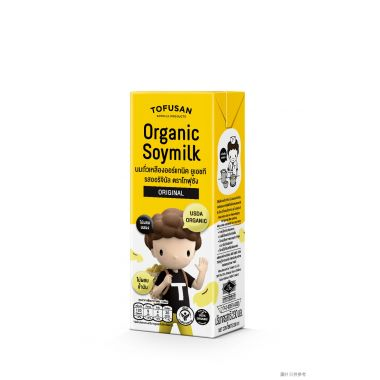 豆腐山有機豆奶 230ml (3包裝) - 原味