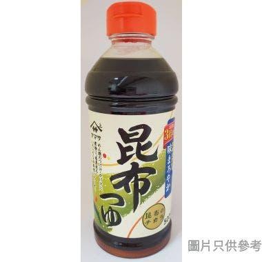 上字昆布麵汁 500ml