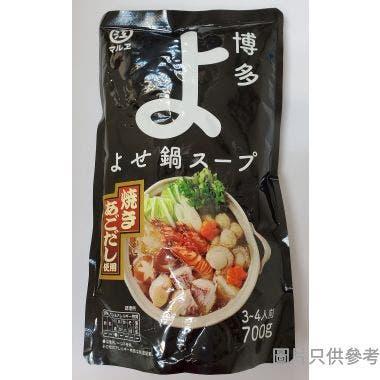 Marue Shoyu日本製博多雜煮鍋 700g - 飛魚湯底