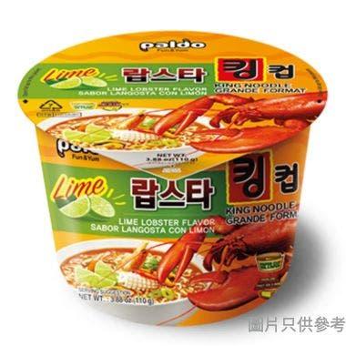 八道韓國製青檸龍蝦大碗麵 110g