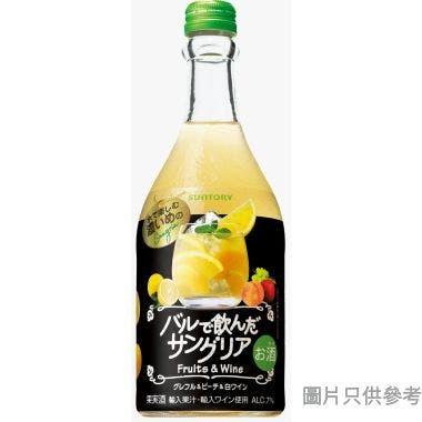 三得利日本製西班牙雞尾白酒 500ml