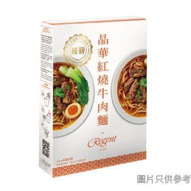 晶華紅燒牛肉麵 560g (常溫版)