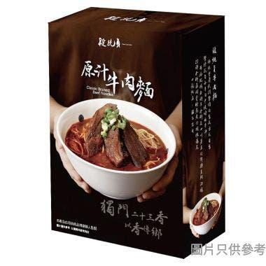 段純貞原汁牛肉麵 630g (常溫版)