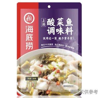 海底撈酸菜魚調味料360g