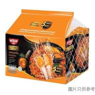 日清泰國製冬蔭功蝦膏撈麵 71g (5包裝)