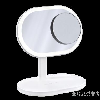 MOMAX Q.Led Mirror化妝鏡連無線充電及藍牙音箱QL3