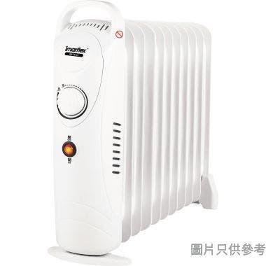Imarflex伊瑪牌1200W 11片裝中型充油式電暖爐INY-1211A