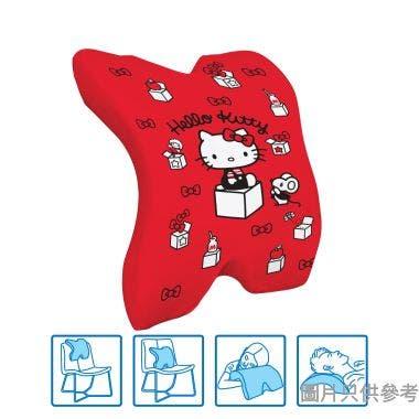 Sanrio Hello Kitty多用途腰墊 295W x 360D x 130Hmm SA-MPC-1(KT) - 紅色