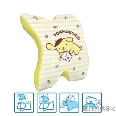 Sanrio Pompompurin多用途腰墊 295W x 360D x 130Hmm SA-MPC-5(PN) - 黃色