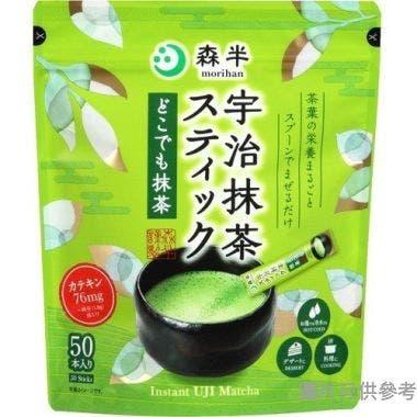 森半宇治抹茶速溶茶粉棒 90g (50包裝)