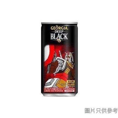 GEORGIA x 機動戰士高達深焙無糖罐裝黑咖啡 185g
