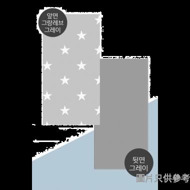 Dfang韓國製寵物防水防滑軟墊 600W x 1400D x 7Hmm A4 - 灰色星星紋