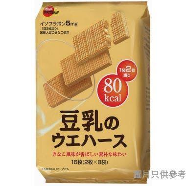 百邦豆乳威化餅 107g