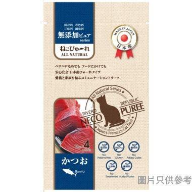 Cat Puree 日本製貓用天然無添加肉泥 (4包裝)13g CTCJFW0124134 - 鰹魚味