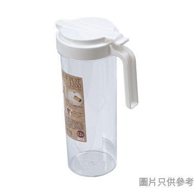 Himaraya日本製塑膠水勺 1.2L 0134 - 白色