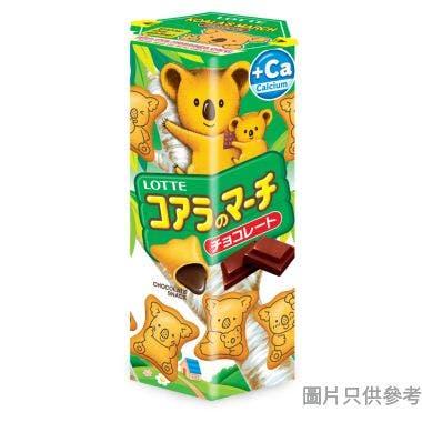 樂天熊仔餅 37g - 朱古力味