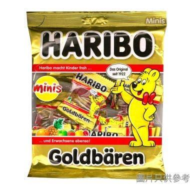 哈瑞寶金熊迷你雜果橡皮糖 250g