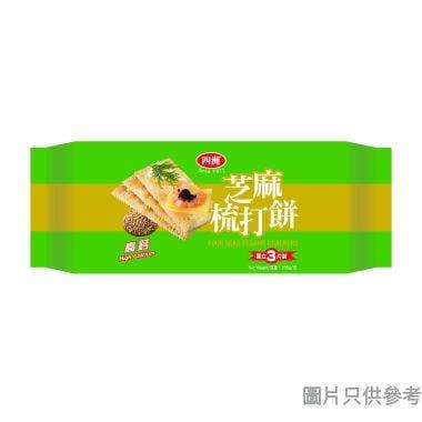 四洲梳打餅 200g - 芝麻