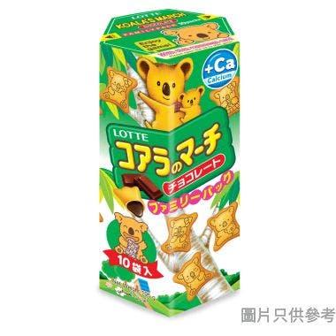 樂天熊仔餅家庭裝 19.5g (10包裝) - 朱古力味