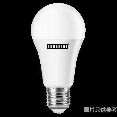 SUNSHINE 陽光9W E27大螺頭 LED球膽 LGT-9E27W-2 - 黃光