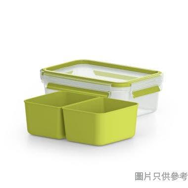 Tefal 法國特福德國製 MasterSeal To Go 塑膠點心盒1000ml 195W x 135D x 68Hmm K3100512