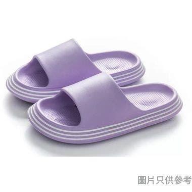 Jenus 女士EVA抗菌厚底拖鞋 PR-S-9141LP - 紫色