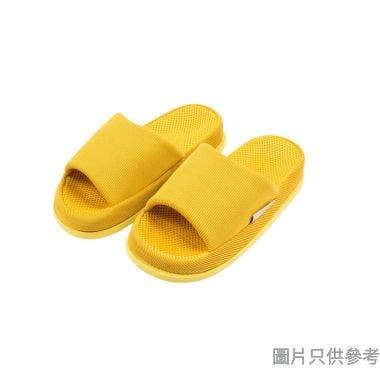 REFRE女裝穴位按摩家居拖鞋 - 黃色
