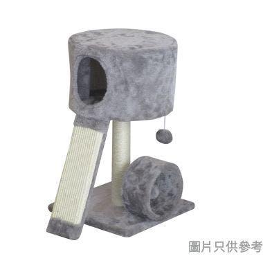 Meow Me 2層貓樹 300W x 300D x 530Hmm MM80659E - 灰色