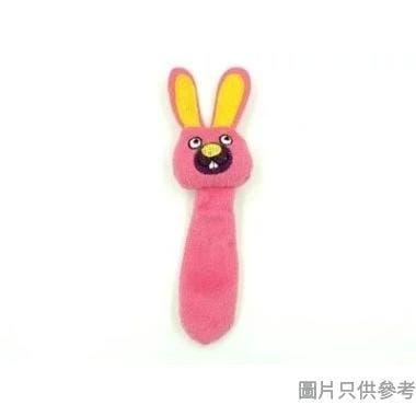 Billipets 白兔頭長尾貓草玩具 NS-11970P - 粉紅色