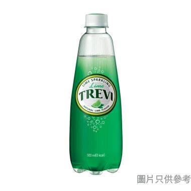 Trevi有汽礦泉水 500ml - 青檸味