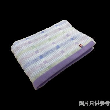 日本製今治浴巾 600W x 1200Dmm 071298 - 紫藍色