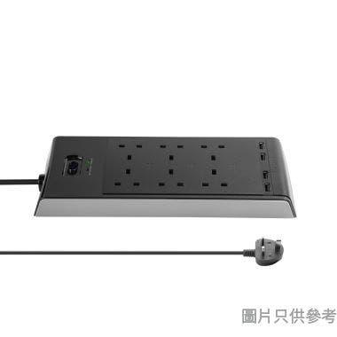 Targus 6位防雷拖板附4位USB APS11AP-50