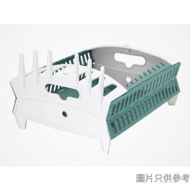 Fozzils 美國製可折疊餐具架 420W x 295D x 140Hmm DR-315-AQ-W