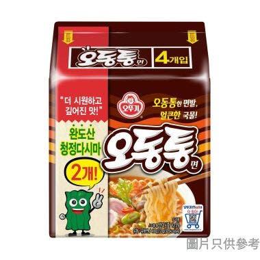 不倒翁海鮮烏龍拉麵 120g (4包裝)