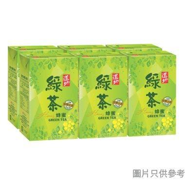 道地蜂蜜綠茶250ml (6包裝)