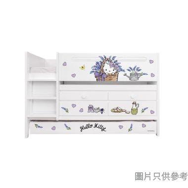 Sanrio CTD-TB02 多功能組合床(書檯,子床及六櫃桶) - Hello Kitty-B (面向計左樓梯)