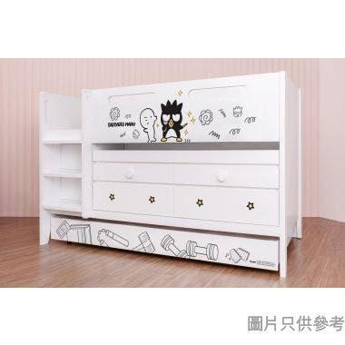 Sanrio CTD-TB02 多功能組合床(書檯,子床及六櫃桶) - XO-A (面向計左樓梯)
