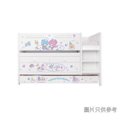 Sanrio CTD-TB02 多功能組合床(書檯,子床及六櫃桶) - Little Twin Stars-C (面向計右樓梯)